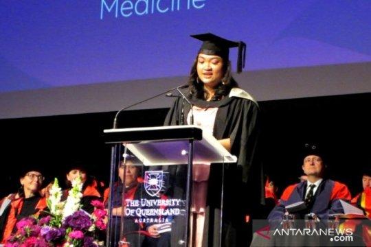Wakili wisudawan, mahasiswa UI sampaikan pidato di UQ Australia