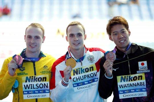 Perenang Rusia Anton Chupkov pecahkan rekor nomor 200m gaya dada