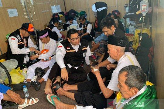 50 jamaah kloter 9 embarkasi Batam berobat rata-rata per hari