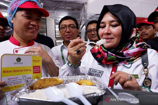 Menu nusantara untuk jamaah Indonesia