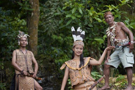 Tetua adat Kalimantan berkumpul dalam Mesiwah Pare Gumboh