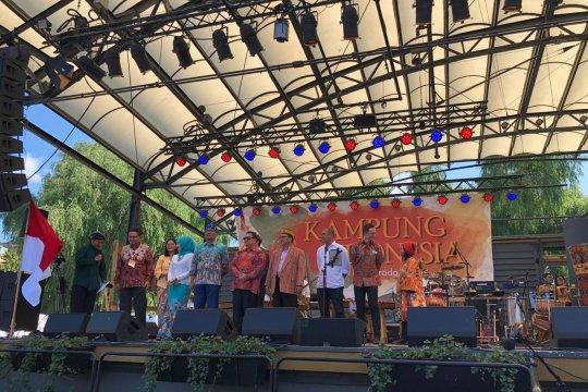 Kampung Indonesia di Taman Raja Swedia