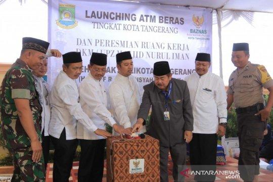 Pemkot Tangerang - Baznas resmikan atm beras di Cipondoh