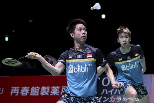Minions dan Fajar/Rian amankan tiket ke perempat final China Open