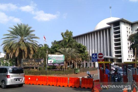 Syiar toleransi dan nasionalisme dari kemegahan Masjid Istiqlal