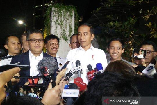 Arsul: Jokowi tidak bicarakan calon menteri pada pembubaran TKN
