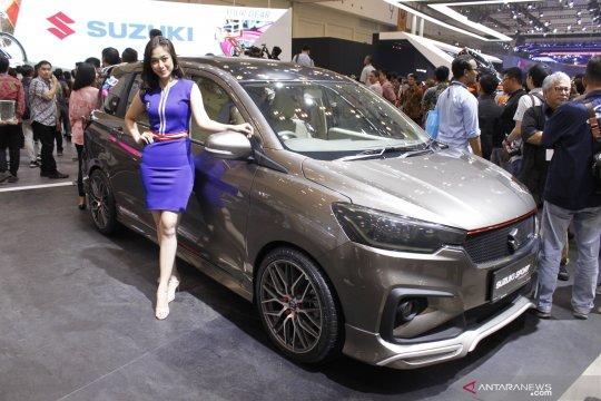 Suzuki cetak 1.159 lembar surat pemesanan kendaraan selama GIIAS 2019