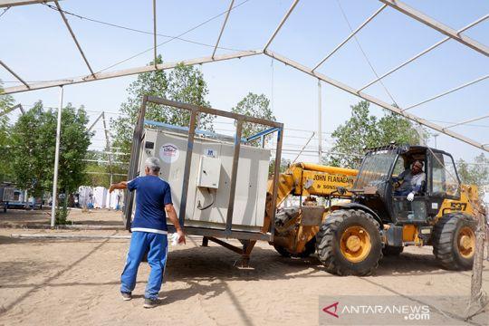 Fasilitas AC saat Wukuf di Arafah