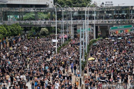 Massa Hong Kong berencana gelar aksi duduk di mal