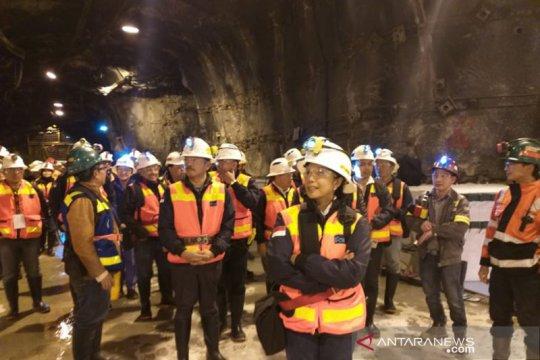 Rini yakinkan Freeport bakal miliki smelter berkapasitas 4 juta ton