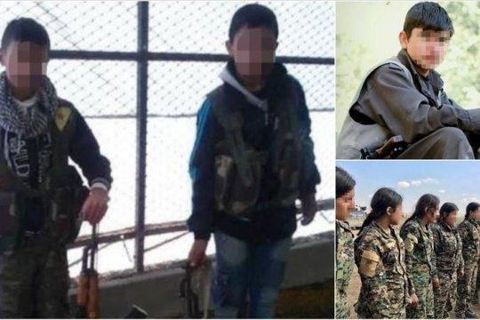 PBB: 313 anak direkrut oleh kelompok YPG/PKK