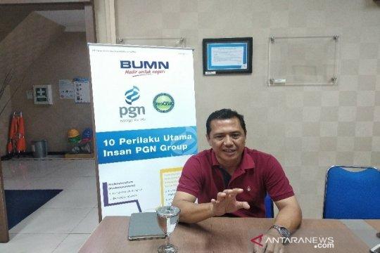 PGN Medan dapat dua pelanggan industri