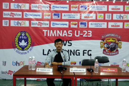Timnas U23 kalahkan Lampung FC 2-0 di laga uji coba