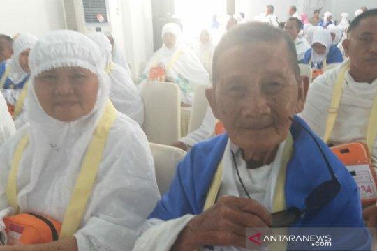 Calon haji tertua asal Deli Serdang anggota Veteran