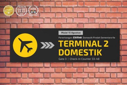 Penerbangan rute domestik Citilink pindah ke Terminal 2 Bandara Soetta