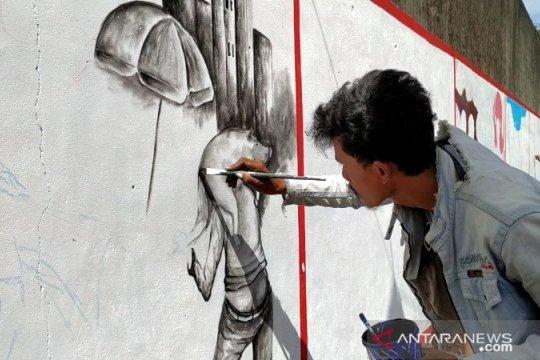 Pemkab Bangka Selatan gelar Festival Mural TCOF