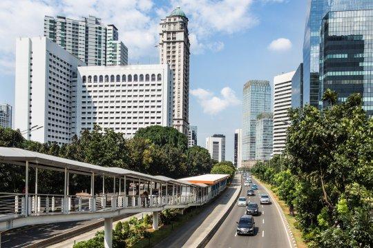 Cuaca cerah berawan dominasi langit Jakarta pada Rabu