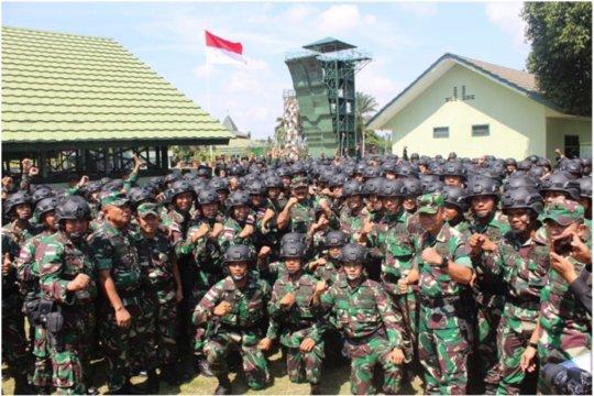 Batalyon R 142/KJ Satgas Pamtas RI-RDTL diberangkatkan 13 Agustus