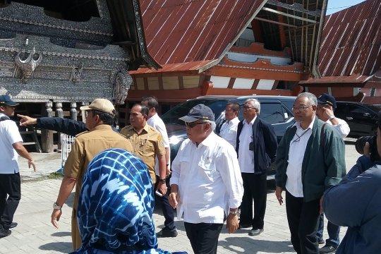 Dukung pariwisata, pemerintah tingkatkan akses jalan Lingkar Samosir