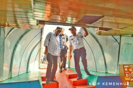 Kemenhub anggarkan Rp22 miliar bangun bus air di Danau Toba