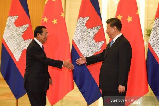 China dan Kamboja teken perjanjian pasar bebas