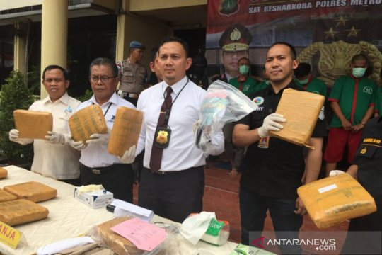 Jaringan narkoba kampus dikendalikan bandar berstatus DPO