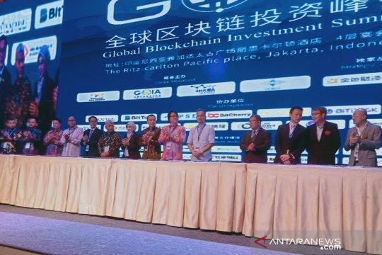 """Sejumlah perusahaan nasional teken MoU teknologi """"Blockchain"""""""