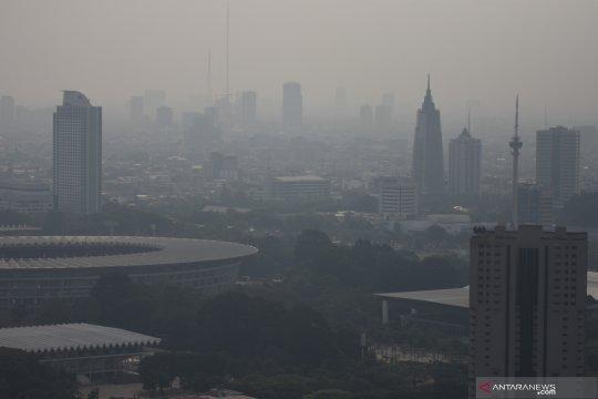 Jelang sidang polusi, kualitas udara di Jakarta kategori tidak sehat