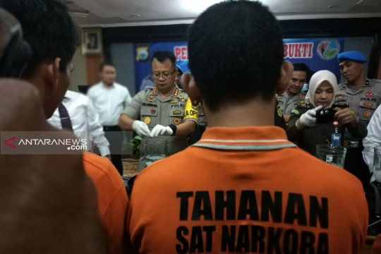 Polrestabes Makassar musnahkan narkoba 1,3 kilogram sabu