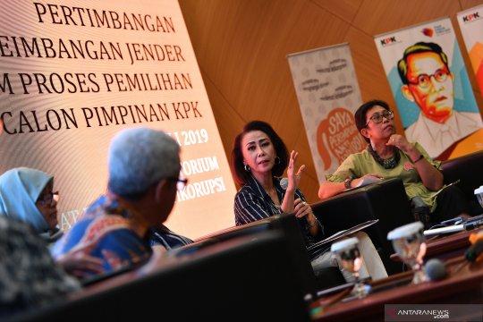 Keseimbangan gender dalam pemilihan capim KPK