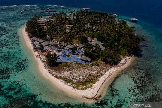 Pembangunan resor di Pulau Konservasi TNKJ