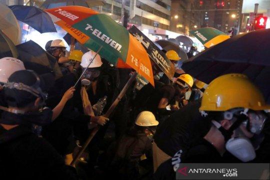 Ribuan PNS Hong Kong rencanakan gelombang aksi protes