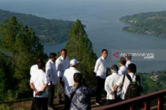"""""""Cahaya"""" di balik hadirnya Jokowi di Geosite Sipinsur"""