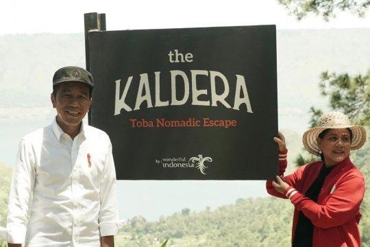 """Jokowi ingin kawasan """"The Kaldera Toba Nomadic"""" cepat dikembangkan"""
