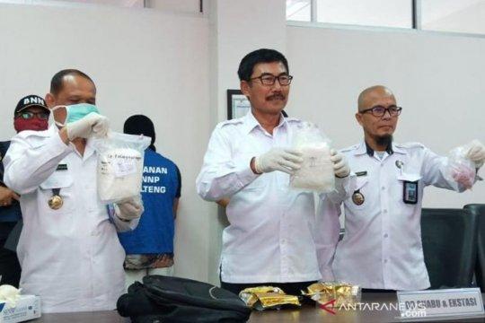 BNNP Kalteng selidiki warga Sampit kendalikan peredaran 2 kg sabu-sabu