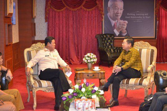 Plt Gubernur Kepri dan Konjen Singapura bahas promosi pariwisata