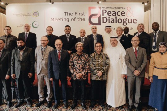 Pertemuan OKI untuk perdamaian dan dialog dilaksanakan di Jakarta