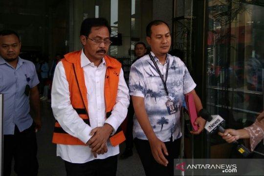 KPK perpanjang penahanan Gubernur Kepri nonaktif Nurdin Basirun
