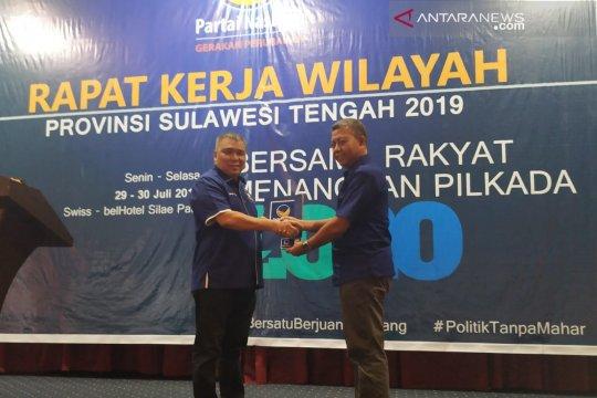Rakerwil NasDem tetapkan Ahmad Ali sebagai kandidat Gubernur Sulteng