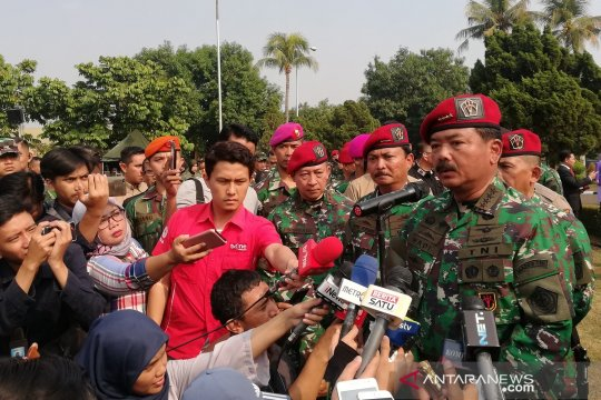 Panglima TNI: Koopsus 80 persen jalankan fungsi penangkal terorisme
