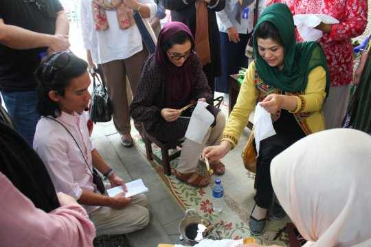 Afganistan belajar pemberdayaan ekonomi perempuan di Sleman