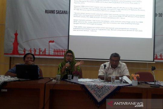 Peserta SMN 2019 di Yogyakarta dibekali ilmu jurnalistik