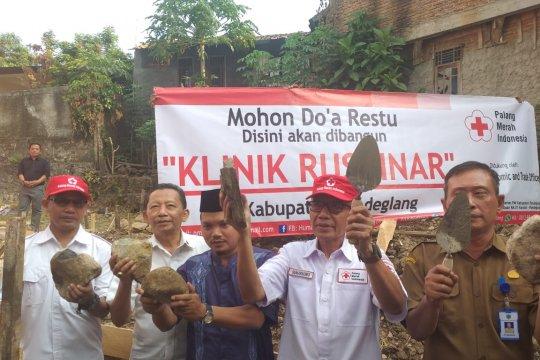 PMI bangun klinik di Pandeglang Banten