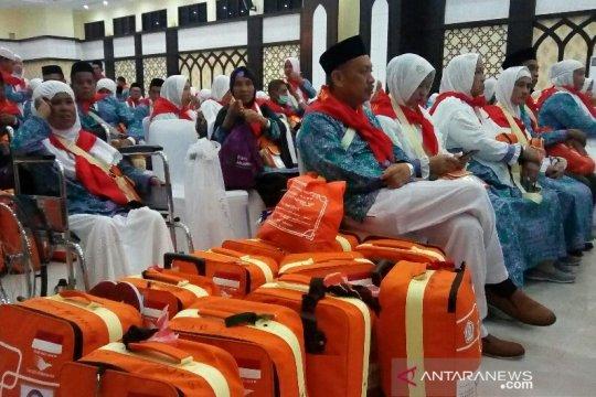 Kloter 32 embarkasi Hasanuddin Makasar bertolak menuju Mekkah