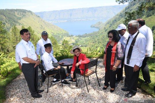 Presiden kunjungi Kaldera Toba