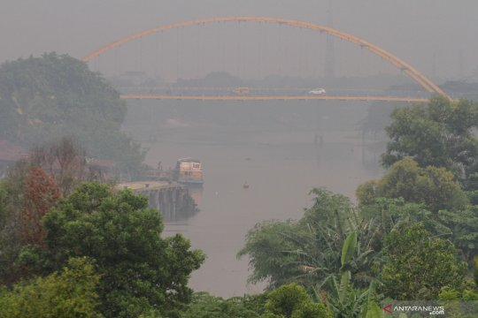 Bengkalis-Riau dikepung 13 titik panas, sebut BMKG
