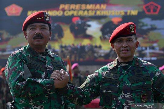 Brigadir Jenderal TNI Rochadi dilantik sebagai Komandan Koopsus TNI