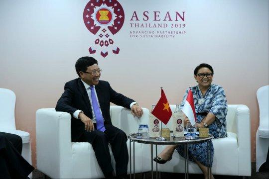 Indonesia-Vietnam dorong penyelesaian delimitasi ZEE
