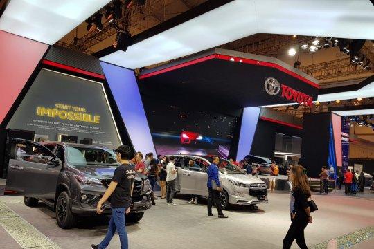 Avanza tetap terlaris, SPK Toyota tembus di atas 6.000 unit di GIIAS