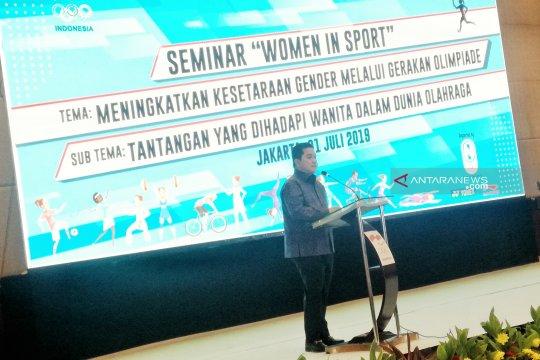 Erick Thohir sebut perempuan berkontribusi dalam ASIAN Games 2018